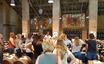 Study visit in Reggio Emilia from TCU (Texas Christian University)