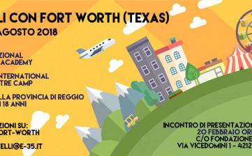 20 febbraio per Fort Worth alla E35