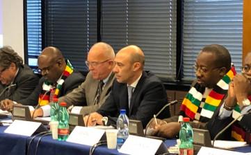 Delegazione dello Zimbabwe a Reggio