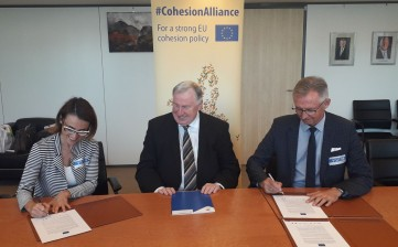 Reggio Emilia aderisce alla Cohesion Alliance