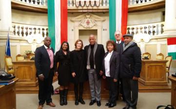 Delegazione del Gauteng a Reggio