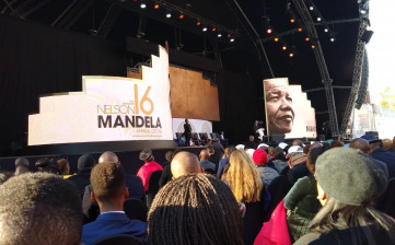 Reggio celebra il Mandela Day alla Constitution Hill