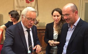 Delegazione di Digione a Reggio Emilia