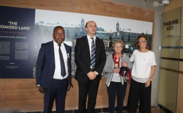 Delegazione di Ekurhuleni a Reggio Emilia