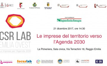 Workshop su Agenda 2030