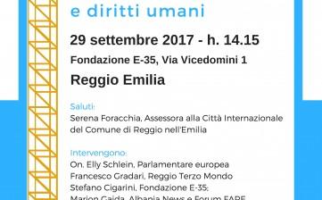 Parlamento europeo protagonista a Reggio Emilia