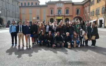 Spring breakers a Reggio Emilia