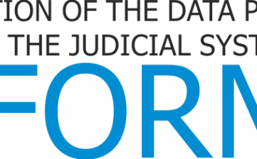 INtroduction of the data protection reFORM to the judicial system